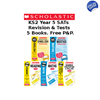 YEAR 5 EXAM PACK [5 BOOKS] KS2 SATS REVISION GUIDES AND PRACTICE TESTS FOR ENGLISH AND MATHS
