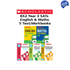 Year 3 Learning Pack [5 Books] KS2 Workbooks and Textbooks for Maths and English