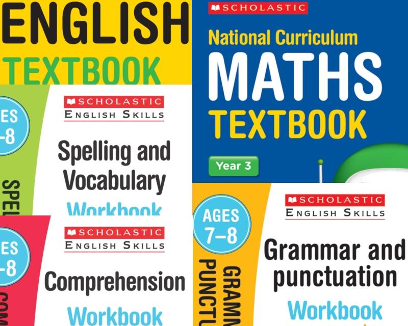 SatsBooks Scholastic Year 3 Learning Pack [5 BOOKS] KS2 SATs ...