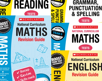 YEAR 5 EXAM REVISION PACK [5 BOOKS] KS2 SATS REVISION GUIDES AND PRACTICE TESTS FOR ENGLISH AND MATHS