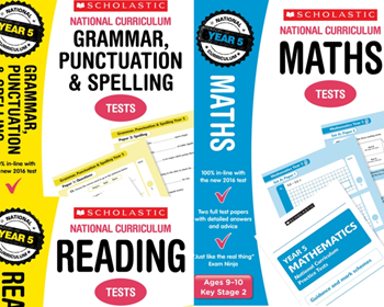 Year 5 Mock Test Pack [3 Books] SATS KS2