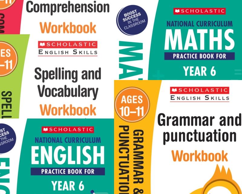 SatsBooks YEAR 6 KS2 SATS LEARNING PACK [5 BOOKS]. KS2 SATS 5 BOOKS ...