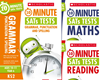 YEAR 6 10 MINUTE TESTS [3 BOOKS] KS2 SATS ENGLISH, GPS & MATHS