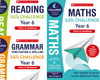 Scholastic Year 6 KS2 Challenge Pack [3 BOOKS] Tests & Workbooks with FREE P&P