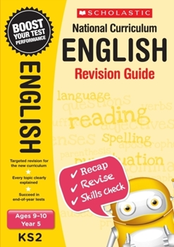 Scholastic KS2 Year 5 English Revision Guides x 30