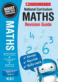 Scholastic KS1 Year 2 Maths Revision Guides x 30