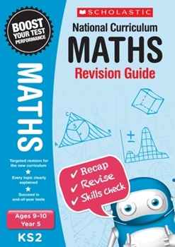 Scholastic KS2 Year 5 Maths Revision Guides x 30