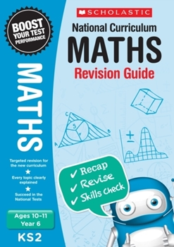 Scholastic KS2 Year 6 Maths Revision Guides x 30
