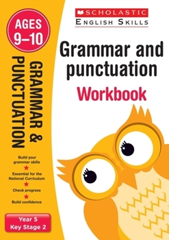 Scholastic KS2  English Skills: Grammar and Punctuation Workbook (Year 5) x 30