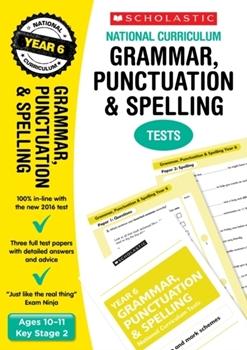 Scholastic KS2  English Skills: Grammar and Punctuation Workbook (Year 6) x 30