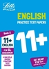 Letts GL Assessment 11+ Practice English Test Pack  2