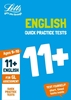 Letts GL Assessment 11+ Age 9-10 Quick Practice English Tests