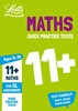Letts GL Assessment 11+ Age 9-10 Quick Practice Maths Tests