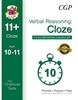 CGP CEM 11+ 10-Minute Tests (Age 10-11) Verbal Reasoning: Cloze (Book 1)