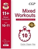 CGP 10-Minute Tests for 11+ Mixed Workout Book 1