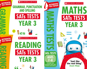 Scholastic KS3 Year Mock Test Pack [3 Books] Tests