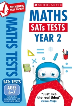 Scholastic National Curriculum KS1 SATs Tests: Maths (Year 2) x 30