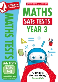 Scholastic National Curriculum KS2 SATs Tests: Maths (Year 3) x 30