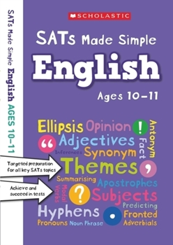 Scholastic SATs Made Simple: English (Ages 10-11) x 30 [Class Pack]