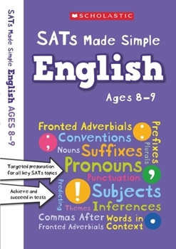 Scholastic SATs Made Simple: English (Ages 8-9) x 30 [Class Pack]