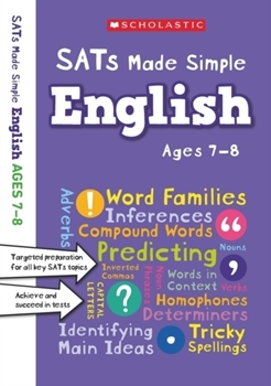 Scholastic Year 3 SATs Made Simple: English (Ages 7-8) x 30 [Class Pack]