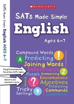 Scholastic Year 2 SATs Made Simple: English (Ages 6-7) x 30 [Class Pack]